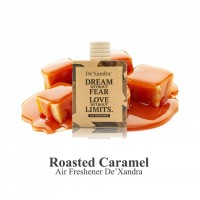 Tinh dầu thơm DE'XANDRA khử mùi treo xe ôtô - Hương kẹo Caramel - MALAYSIA