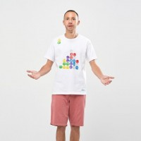 Áo thun T - Shirt nam Uniqlo The Game Classic Pixels UT Puyo Puyo