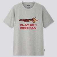 Áo thun cotton nam Uniqlo Marvel Retro Gaming UT