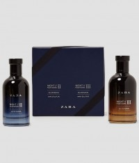 Set 2 chai nước hoa Zara nam NIGHT POUR HOMME II & III EDP 100ml