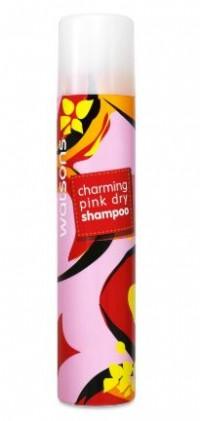 Dầu gội khô WATSONS Charming Pink Dry Shampoo 200ml