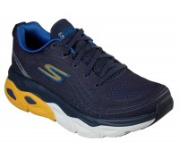 Giày thể thao nam Skechers Max Cushioning Ultimate - Navy/Yellow