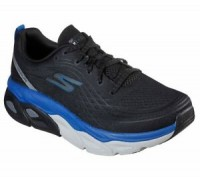 Giày thể thao nam Skechers Max Cushioning Ultimate - Black/Blue
