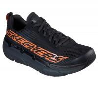 Giày thể thao nam Skechers Max Cushioning Premier - Black/Orange