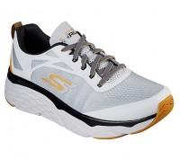 Giày thể thao nam Skechers Max Cushioning Elite Vivid - Light Gray/Yellow