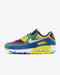 Giày thời trang nam Nike Air Max 90 - Blue/Yellow/Green/White
