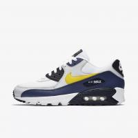 Giày thời trang nam Nike Air Max 90 Essential - White/Navy/Black