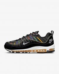Giày thời trang nam Nike Air Max 98 Premium - Black