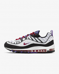 Giày thời trang nam Nike Air Max 98 - White/Black/Purple