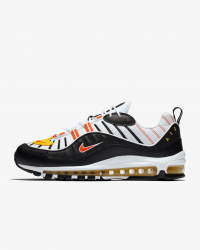 Giày thời trang nam Nike Air Max 98 - Black/White/Orange