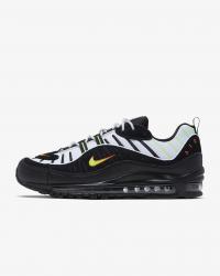 Giày thời trang nam Nike Air Max 98 - Black/White/Neon