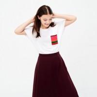 Áo thun nữ cổ tròn Uniqlo Colour And Rhythm UT Lygia Pape