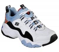 Giày thể thao nữ SKECHERS D'Lites 3 x One Piece Blue/Black/White