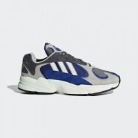 Giày thời trang thể thao nam Adidas Yung 1 - Blue/Grey/White