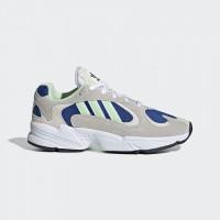 Giày thời trang thể thao nam Adidas Yung 1 - White/Blue/Grey