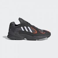 Giày thời trang thể thao nam Adidas Yung 1 - Black/White/Red