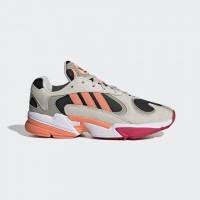 Giày thời trang thể thao nam Adidas Yung 1 - Grey/White/Pink/Orange