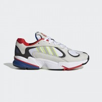 Giày thời trang thể thao nam Adidas Yung 1 - Grey/Red/White/Black/Blue