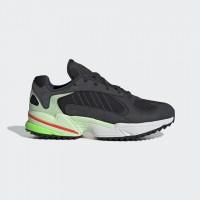 Giày thời trang thể thao nam Adidas Yung 1 Trail - Black/Grey/Green