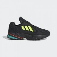 Giày thời trang thể thao nam Adidas Yung 1 Trail - Black/Neon