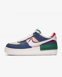 Giày thời trang nữ Nike Air Force 1 Shadow - Mystic Navy/Echo Pink/Gym Red/White
