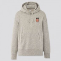 Áo hoodie nam Uniqlo MEN Urban Walls Sweat Pullover Long Sleeve