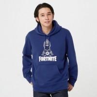 Áo hoodie nam tay dài Uniqlo Fortnite Sweat