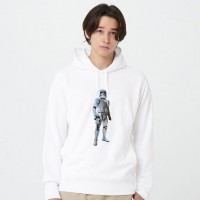 Áo hoodie nam tay dài Uniqlo STAR WARS FOREVER Sweat