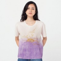 Áo thun nữ cổ tròn Uniqlo The Tale of Genji UT