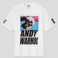 Áo thun nam cổ tròn Uniqlo Andy Warhol: From A to B and Back Again Oversized UT