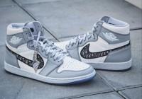 Giày nam nữ cao cấp Dior x Air Jordan 1 High hàng USA
