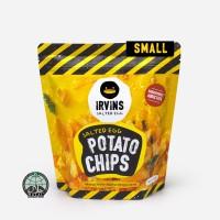 Khoai tây trứng muối 105g IRVINS - Small Salted Egg Potato Chips